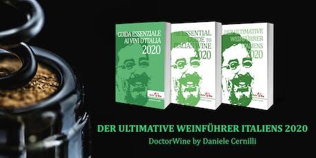 """Weinverkostung DoctorWine München """"Der ultimative Weinführer Italiens 2020"""" Tickets"""