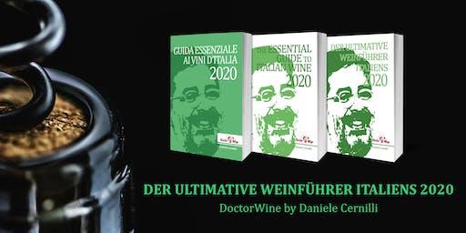"""Weinverkostung DoctorWine München """"Der ultimative Weinführer Italiens 2020"""""""