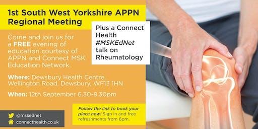 South West Yorkshire APPN Regional Meeting