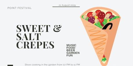 Sweet & Salt Crepes biglietti