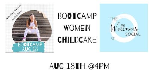 Bootcamp in the park w the Wellness Social stl & Lindsay Burgo. Women/kids