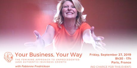 Your Business, Your Way - Paris tickets