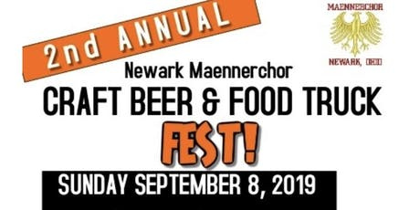 Newark Maennerchor Craft Beer and Food Truck Fest tickets