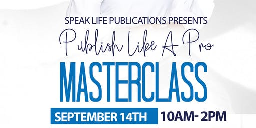 Publish Like A Pro MasterClass