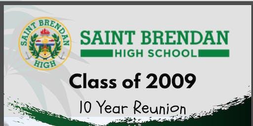 St. Brendan High School Class of 2009 10 Year Reunion