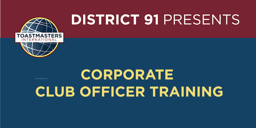 Corporate Club Officer Training - August 2019