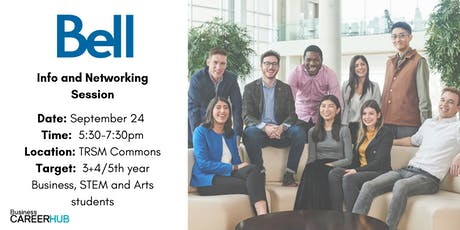 Bell Summer Intern & Graduate Leadership Programs Info Session tickets