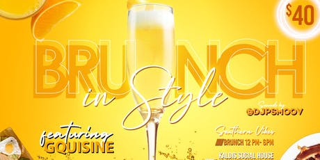 BRUNCH IN STYLE 8.18 tickets
