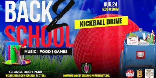 Back 2 School KickBall Drive