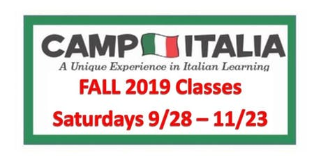 Italian for Children...Fall 2019...Sept 28 to Nov 23 tickets