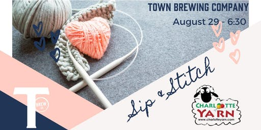 Sip and Stitch Knitting Workshop
