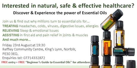 Essential Oil Class tickets