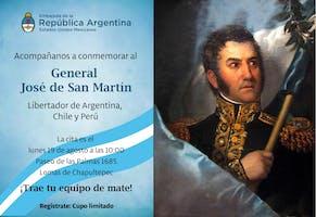 Conmemorar al General Jose de San Martin