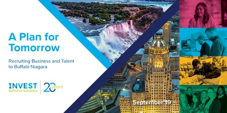 A Plan for Tomorrow: Recruiting Business and Talent to Buffalo Niagara tickets