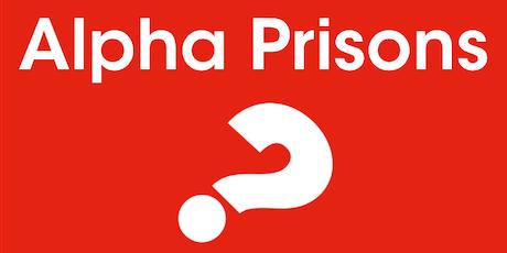 Alpha Prison Volunteer Training tickets
