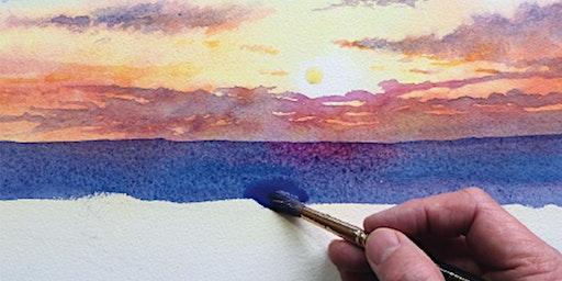 Watercolour Skies - Sunny & Stormy Skies