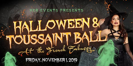 Halloween and Toussaint Ball At The Embassy of France  tickets
