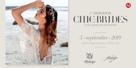 4to Showroom CHIC Brides boletos