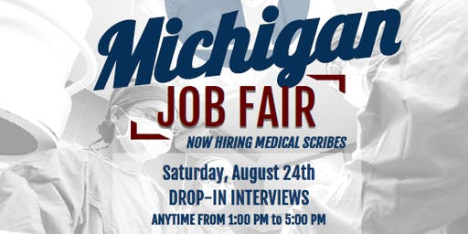 ScribeAmerica Hosts: Job Fair for Ann Arbor, MI!