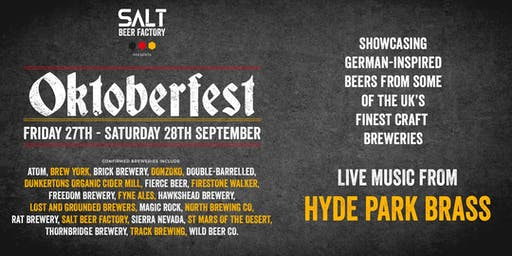 Salt Beer Factory's Oktoberfest