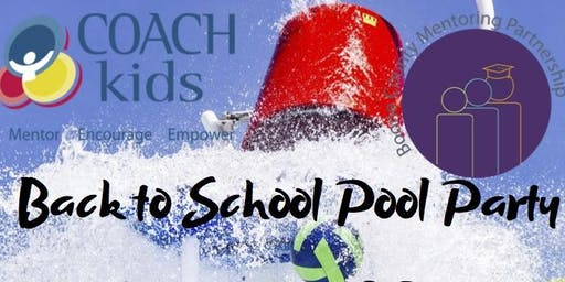 Back to School Pool Party for Mentors, Mentees, and their families