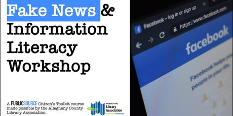 Teens: Fake News and Information Literacy Workshop tickets