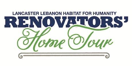 Renovators' Home Tour tickets