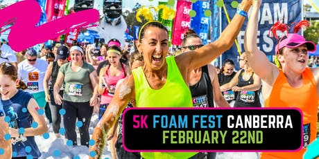 The 5K Foam Fest - Canberra tickets
