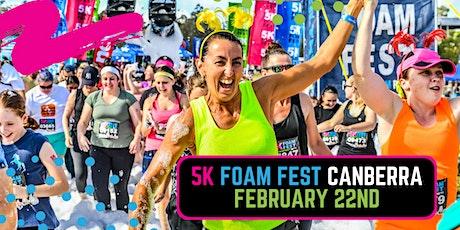The 5K Foam Fest - Canberra tickets