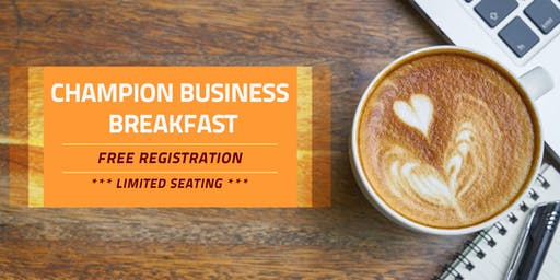 Champion Business Breakfast
