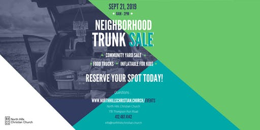 NHCC Trunk Sale Registration