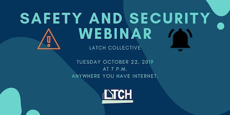 Safety and Security Webinar tickets