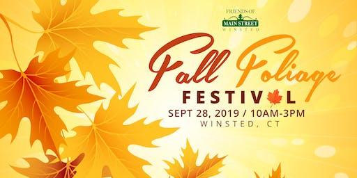 Fall Foliage Festival Door Prize Ticket