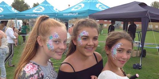 Kent, Reedland Crescent Park Summer fun day
