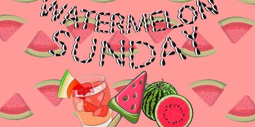 Watermelon Sunday