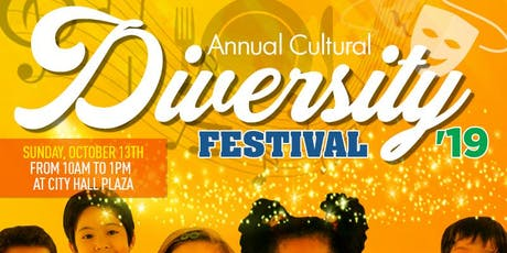 6th Annual Cultural Diversity Festival in Jersey City 2019 tickets
