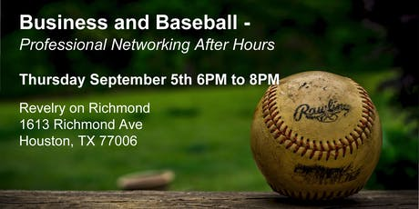 Business and Baseball - Professional Networking After Hours (Sept 2019) tickets