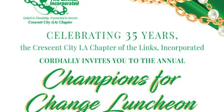 2019 Champions For Change  tickets