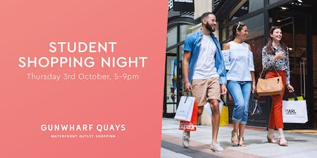 Student Night at Gunwharf Quays tickets