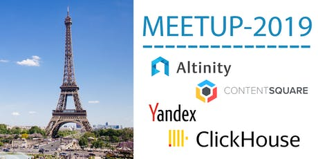 ClickHouse Paris Meetup - 2019 tickets