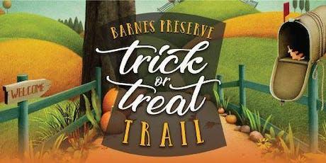Barnes Preserve Trick or Treat Trail tickets