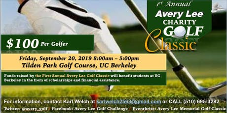 Avery Lee Memorial Golf Classic tickets