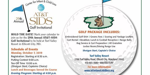 29th Annual AT&T SIDS Golf Invitational & Evening Reception