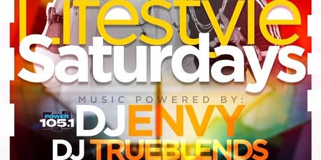 Power 105.1 Presents Lifestyle Saturdays | Open Bar + Free Entry tickets