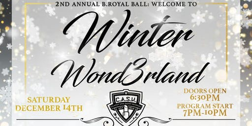 B.Royal Ball: Welcome to WINTER WOND3RLAND