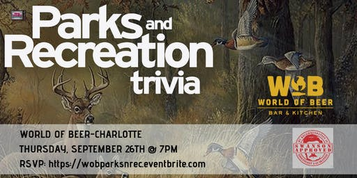 Parks & Rec Trivia at World of Beer Charlotte