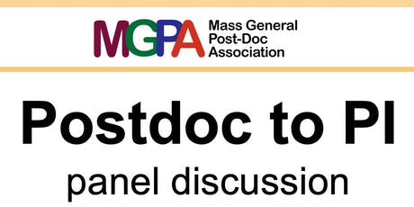 Postdoc to PI panel discussion tickets