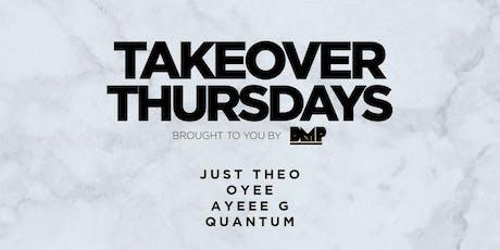 Takeover Thursdays @ Harlot - 08/22/19 tickets
