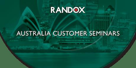 Randox Customer Training Seminar - Sydney (PM Session) tickets