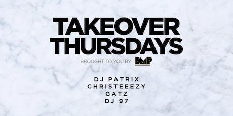 Takeover Thursdays @ Harlot - 08/29/19 tickets